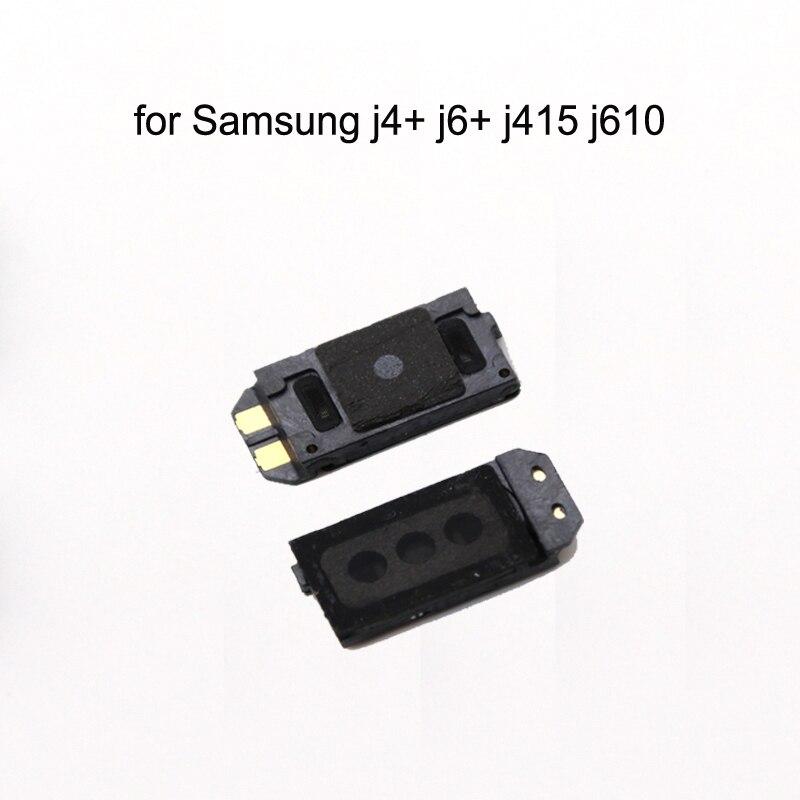 For Samsung Galaxy J4+ J4 Plus 2018 J415 J415F J415FN J415G Original Phone Top Earpiece Ear Speaker Sound Receiver Flex Cable