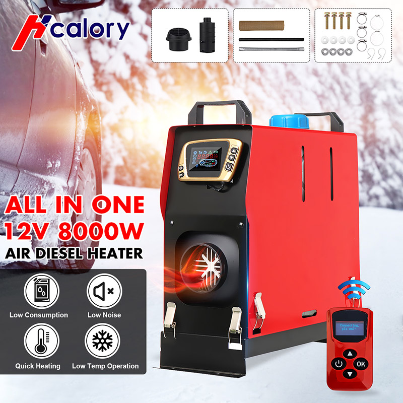 Car-Heater-Tool Parking-Warmer Boat Lcd-Monitor Bus Truck Diesels Hcalory 12V New 1-8KW