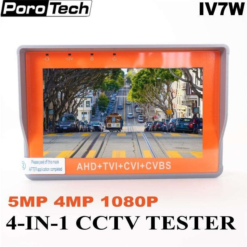 "EYOYO Wristband 5/"" 1080P HD-AHD CVBS CCTV Camera Monitor Tester DC 12V-Output"