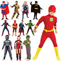 Детский маскарадный костюм «Человек-паук», «вдали от дома», «Питер Паркер», «Мститель», костюм с рисунком мышц супергероя на Хэллоуин и Рожд...