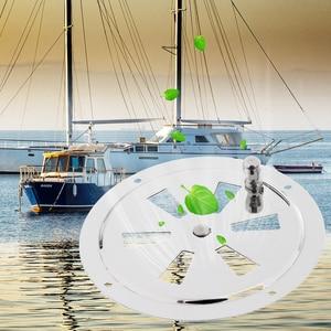 Image 5 - قارب تنفيس الفولاذ المقاوم للصدأ فراشة غطاء تهوية فتحة تهوية مستديرة ومقبض جانبي لليخوت البحرية RV الخ اكسسوارات للقوارب