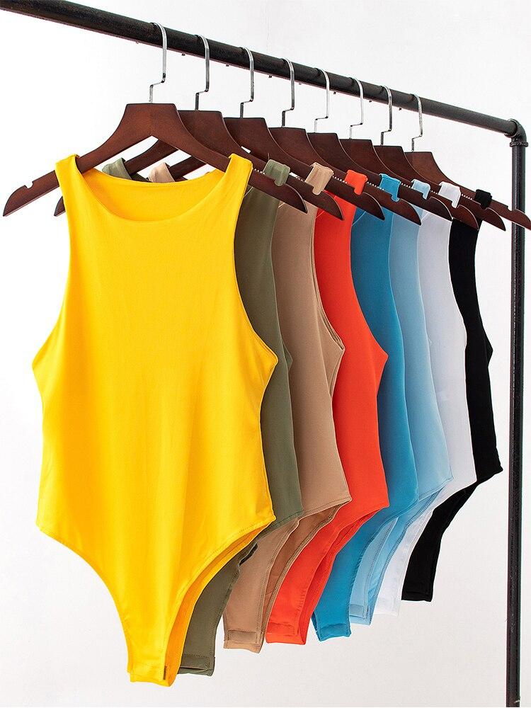 Beach Jumpsuit Romper Sexy Autumn Casual Summer Women Brand Solid Slim Girl New
