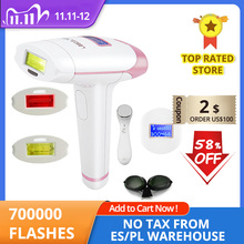 Lescolton лазер для удаления волос T 009i Эпилятор 700000 ЖК дисплей машина постоянный бикини триммер электрический эпилятор лазер