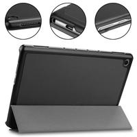 protective pu leather Qosea Tablet Cover For Huawei Mediapad T5 10.1 Luxury PU Leather Smart Stand Case Shockproof Lightweight Stand Cover Protective (4)