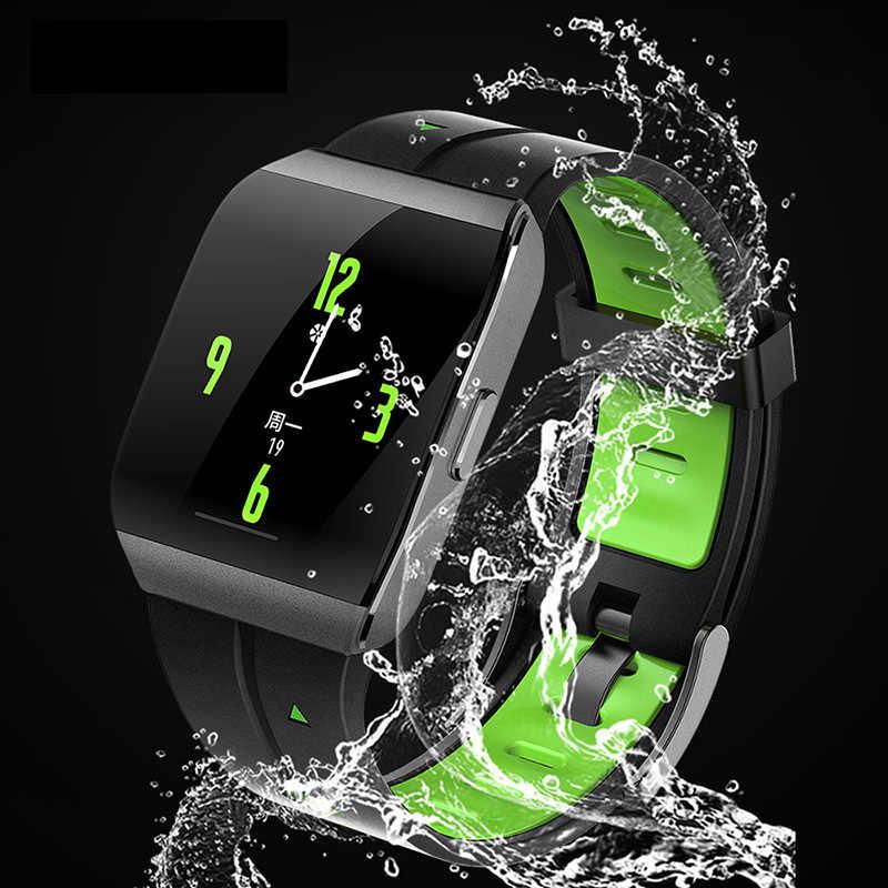ספורט חכם שעון גברים נשים 1.3 אינץ סגסוגת מקרה IP68 Waterproof קצב לב צג X1 Smartwatch עבור אנדרואיד IOS כושר tracker