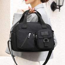 Nowe mody torba damska torba na ramię torebka nylonowa o dużej pojemności moda damska torba na ramię tanie tanio Fatasa Torebka na co dzień Torby na ramię Na ramię i torby crossbody CN (pochodzenie) zipper wytrzymała torba 123831