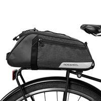 Lixada Water Repellent Cycling Bike Rear Seat Bag Bike Trunk Cargo Pack Road Bike Carrier Bag basket for Bicycle Accessories