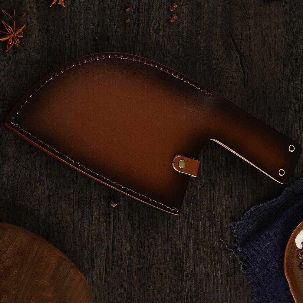 Hanging Knife Sheath Storage Butcher Cooking Protective Holster Cover Accessories Holder Restaurant Soft Artificial Leather Chef