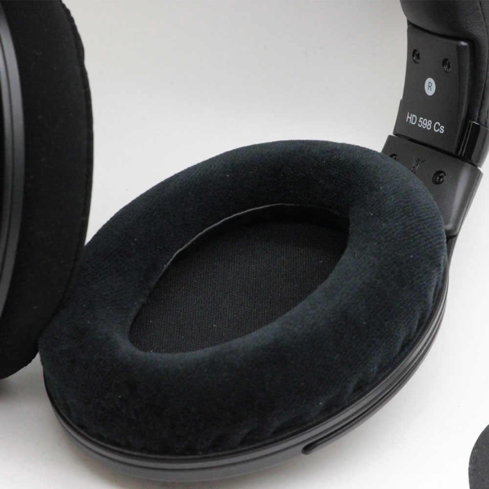 Khopesh หูฟังแผ่นรองหูฟังสำหรับ Sennheiser HD598 HD598SE HD598CS HD 598 CS SE HD515 HD555 HD595 HD518 หูฟังแผ่นรองหูฟัง