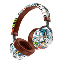 Fashion Facial Mask Bluetooth 5.0 Headset Kids Chinese Culture Style HD Stereo Music Headphones With Microphone For Mobile Phone