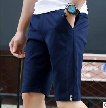 XHS40 Short Men Summer New Pure Cotton Sport Trousers Thin Five - Cent Trousers Men's Trousers