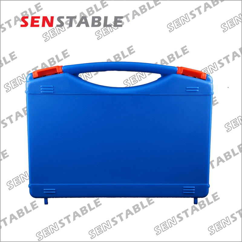 Купить с кэшбэком Plastic Tool case suitcase toolbox Impact resistant safety case equipment Instrument box equipme with pre-cut foam