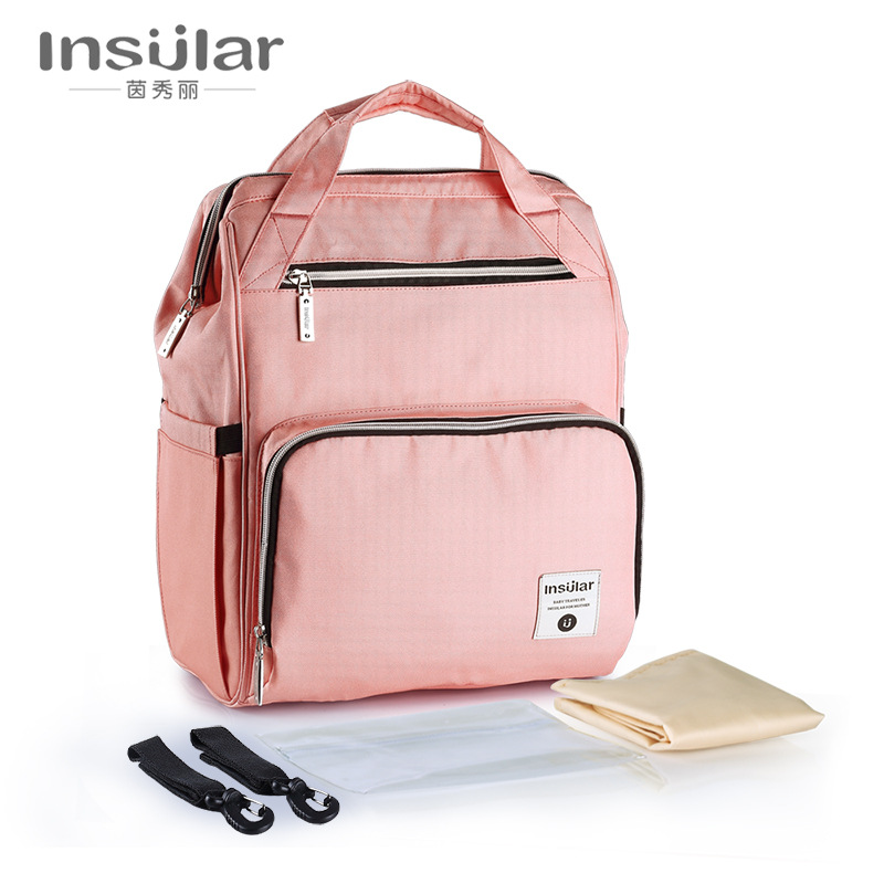 Insular 2018 New Style Mummy Backpack Large Capacity Multi-functional Mining Yuan Bao
