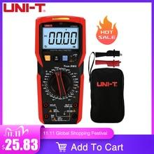UNI T UT89XD dijital multimetre ampermetre voltmetre kapasite gerilim akım akıllı test cihazı LED ekran NCV ölçümü