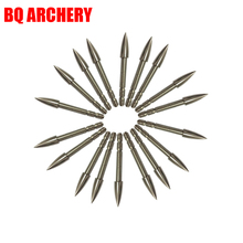 12pcs Archery Insert Broadhead ID4.2mm OD5.6mm Arrows Shaft Archery Arrow Head Arrow Point Tips Practice Hunting Accessories