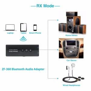 Image 3 - Bluetooth 5.0 送信機と受信機ワイヤレスアダプタステレオオーディオ 3.5 ミリメートル Aux ジャックアダプタテレビカーキットと制御ボタン