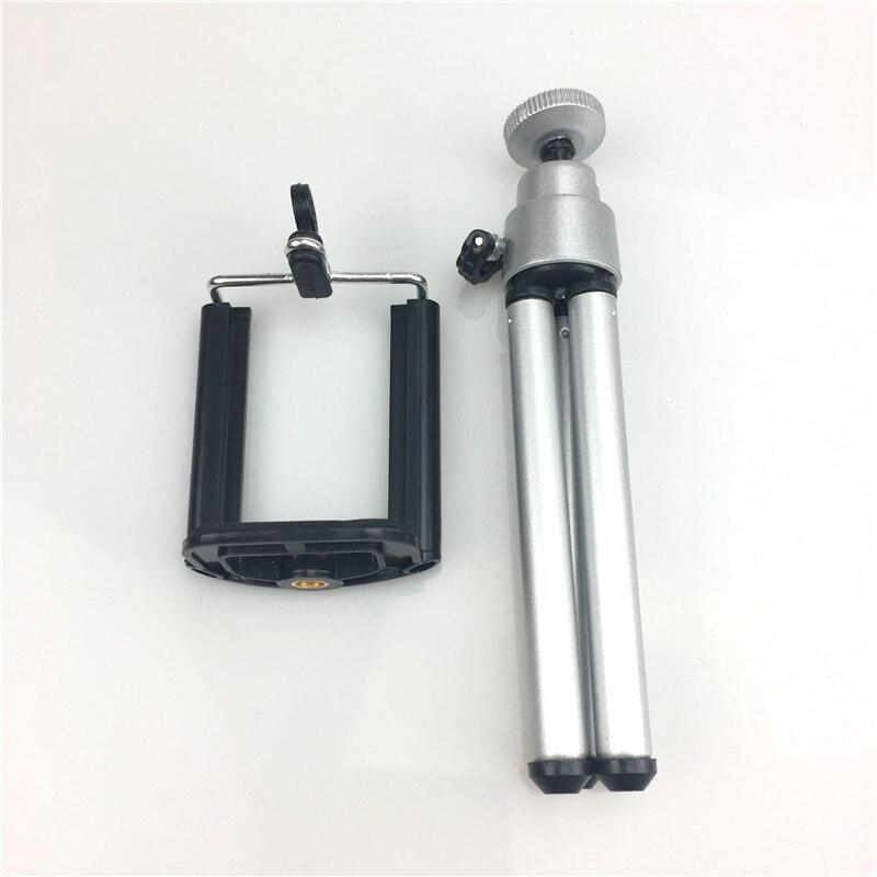 Профессиональный складной штатив-тренога для камеры с винтом для штатива на 360 градусов, алюминиевый стабилизатор штатива с держателем для телефона - Цвет: Small