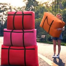 Travel-Bag Sacks Canvas Large-Capacity Women Portable Big 40L-180L House Move Go-Abroad