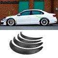 Универсальный Авто широкий корпус колеса арки щиток крыла протектор вспышки подходят для BMW Audi BENZ VW любой автомобиль