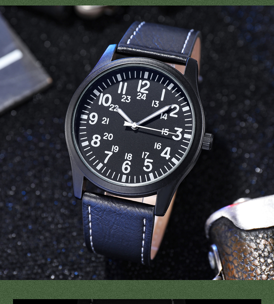 PILOT easy to read classic wristwatch