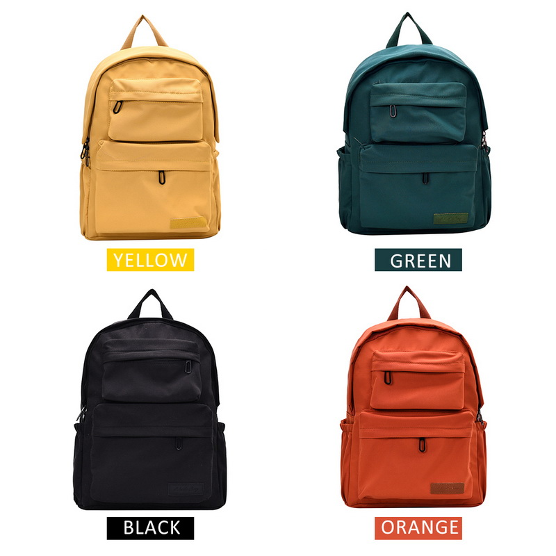 Ha84934c432824ea8a499826b70d3ecd3N - New Waterproof Nylon Backpack for Women Multi Pocket Travel Backpacks Female School Bag for Teenage Girls Dropshipping