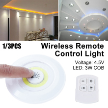 ABS/PC LED Light Office Family Durable Corridor Light Kitchen Remote Control Fashion 150 Lumens Remote Control Light