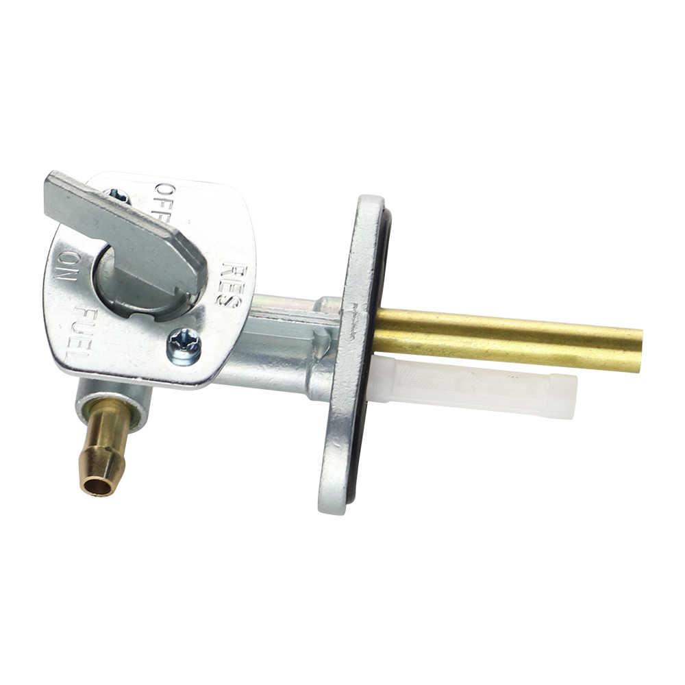 v/álvula del interruptor del tanque de combustible de la gasolina del gas de la motocicleta ATV Interruptor del tanque de combustible de la gasolina del gas 2pcs