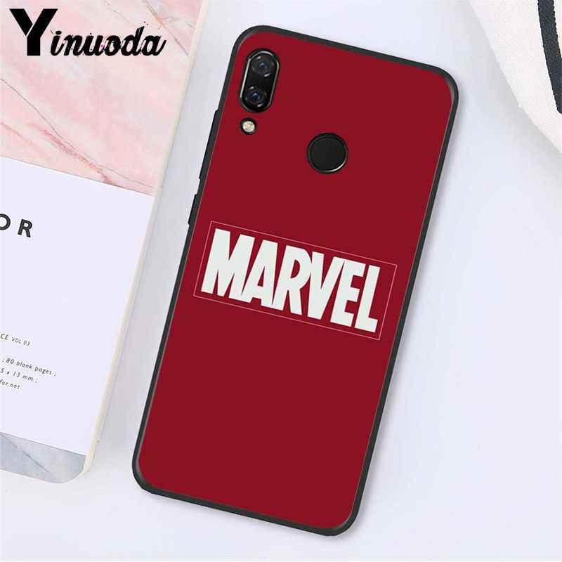 Yinuoda Deadpool de hierro hombre Los vengadores de Marvel funda de teléfono para Xiaomi Redmi Note 7 8T Redmi 5plus 6A Note8 4X Note8Pro