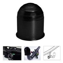 Универсальные аксессуары для прицепа 50 мм, черная крышка для шара прицепа, буксировочная тяга, шаровая крышка, крышка, сцепка, защита, Стайли...
