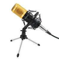 H D S N H-micrófono condensador Bm800, Kit de Bm-800, Karaoke, ordenador, Microfoon, Podcast, con soporte de choque
