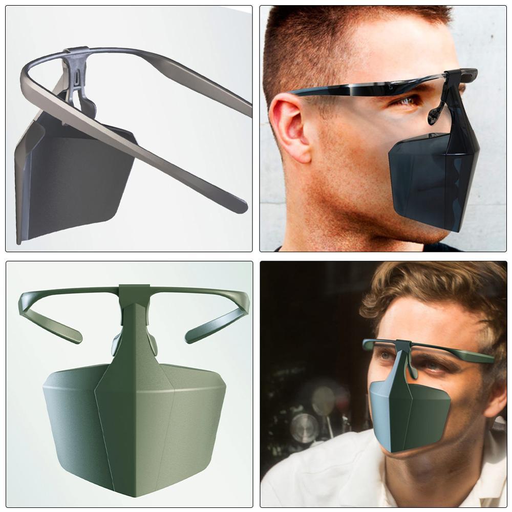 Protective Coronavirus Masks Face Shield Against Anti-fog Isolation face shield Breathable Reusable Protective Cover Dropship 4
