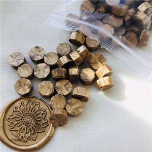 Image 3 - One Bag Sealing Wax Beads Granular Grain 32 34g around 100pcs Wax Seal tablet Multi Color Seal Wax Seal Stamp use Free Shipping