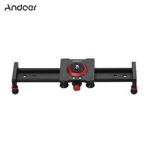 Image 5 - 30cm 40cm 50cm Camera Track Slider Aluminum Alloy Damping Slider Track Video Stabilizer Rail Track Slider for DSLR Camcorder