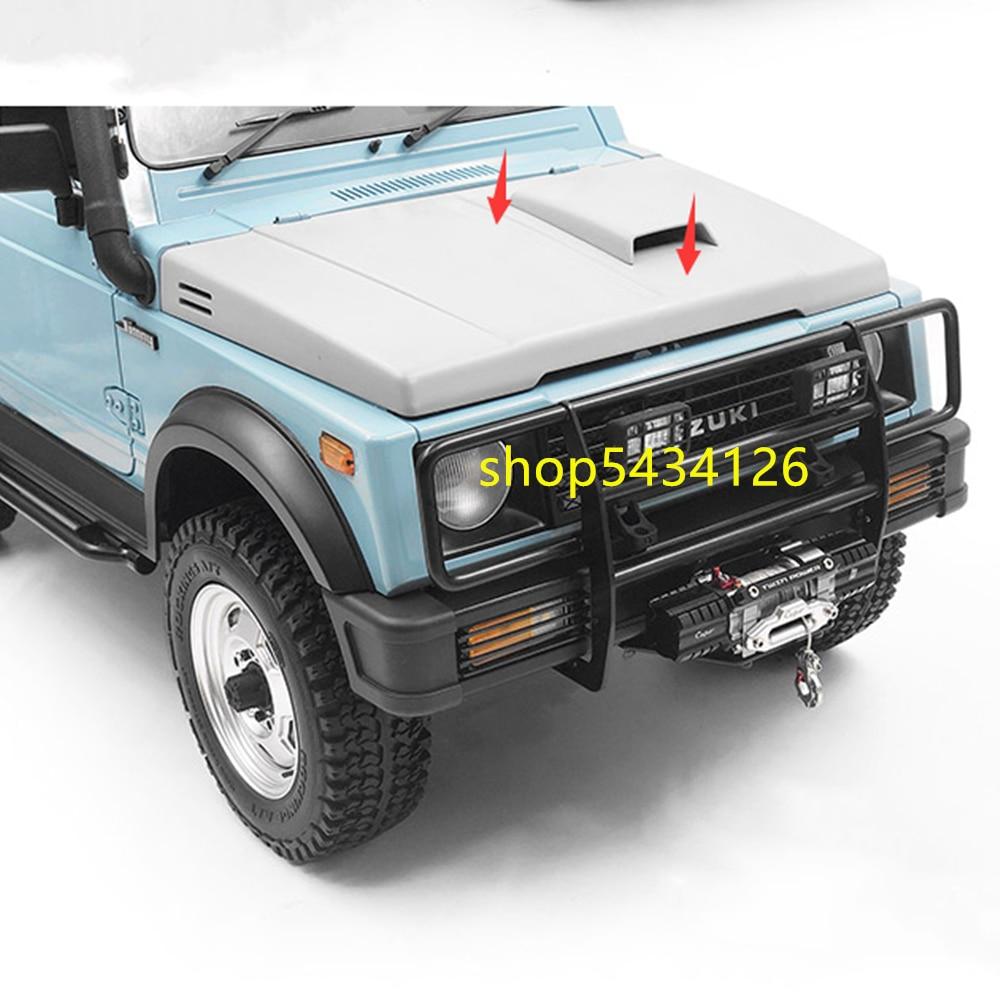 Unpainted Plastic Engine Motor Cover For 1:6 Capo Sixer1 Samurai Jimny Remote Control Car Option Parts