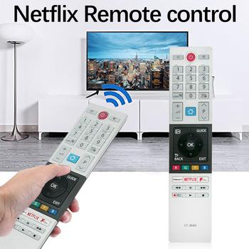 Nadaje się do Toshiba TV TOSHIBA CT-8543 pilot z kluczem Fplay netflix tanie i dobre opinie Sunydeal NONE CN (pochodzenie) remote control