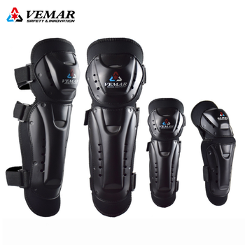 VEMAR Motorcycle Knee Pads Motocross Knee Guard Elbow Protector Armor Protective Gear Racing Riding Moto MTB Skating Knee Pad wosawe mtb motorcycle knee elbow protective pad set motocross snowboard racing ski racing roller body protection knee pads kits
