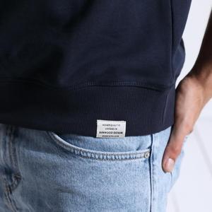Image 4 - SIMWOOD 2020 printemps nouveau streetwear sweats à capuche mode hip hop sweat shirts amples hommes grande taille broderie o cou pull 180318