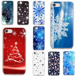 Soft Bag Case For Samsung Galaxy A10 A40 A50 A70 A3 A5 A7 A9 A8 A6 Plus 2018 2015 2016 2017 new year snowflake Brand Christmas