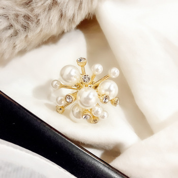 Bague à perles