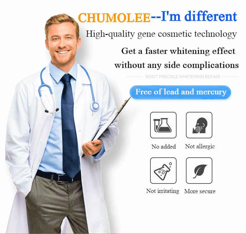 CHUMOLEE ألفا أربوتين 5% تبييض النمش كريم وجه الكلف إزالة حب الشباب البقع الداكنة الميلانين الصباغ مرطب العناية بالوجه