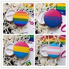 Новинка, транссексуал, радуга, гей, интерсекс, повседневная, отворот, шпильки, любовь, это, Би, пансекал, романтичный, оловянный значок