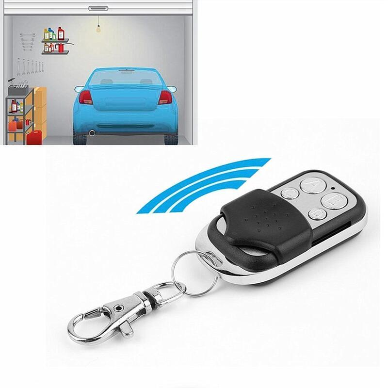 Universal Remote Control Mini Copy Code 4 Channel Cloning Duplicator Key Transmitter 433 MHz Garage Door Gate Opener Controller