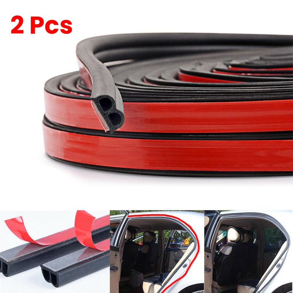 Car Door Rubber Seal Trim Door Edge Guards Weatherstrip for Window Door Engine Cover Z Shape Rubber Seal Protector Guard Strip 4M Length
