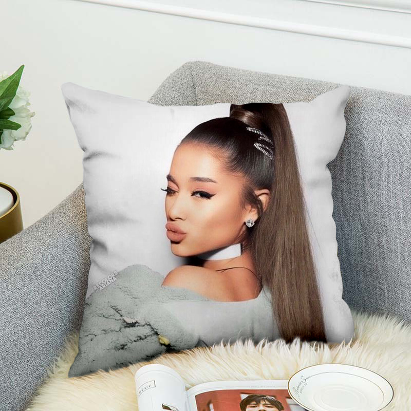 Ariana Grand Pillow Case Polyester Decorative Pillowcases Throw Pillow Cover style 9