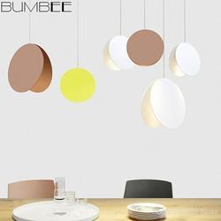 Nordic jadalnia żyrandol pokojowy światła pistacjowe kolor lampki nocne nowoczesne LED kreatywne oświetlenie salonu wiszące lampa przemysłowa