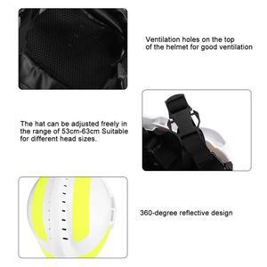 Image 5 - Capacetes de segurança de resgate de emergência anti impacto bombeiro capacete de proteção com farol e óculos de proteção