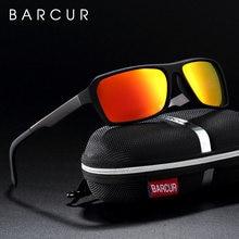 Barcur спортивные очки Квадратные Солнцезащитные для мужчин