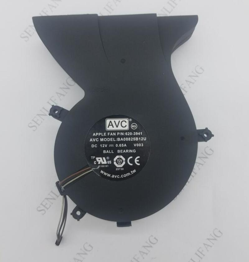 For Laptop CPU Cooling Fan 620-3941 BA08825B12U V003 12V 0.65A FOR Apple Imac 24 A1225 Cooling FAN One Year Warranty