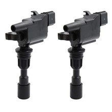 2X Ignition Coil for Ford KN KQ and for Mazda 323 Astina BJ 1.6L 1998-2003 ZZY1-18-100(China)