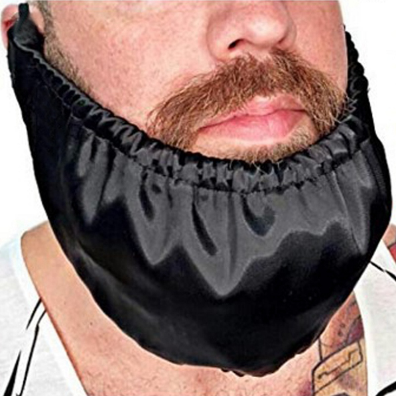 Portable Mens Beard Bib Adjustable Waterproof Facial Hair Apron Guard Bonnet Beard Rag Beard Shaping Styling Tool
